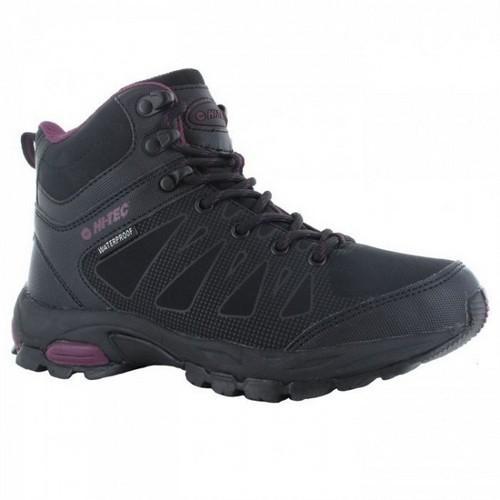 Hi-Tec Raven Mid Waterproof Walking Boots Ladies