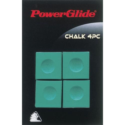 Powerglide Snooker Chalk (4 Pack) Colgan_Sports
