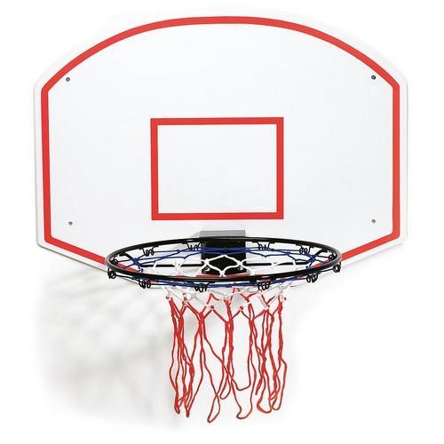 Slam Dunk Plain Basketball Ring & Backboard Colgan_Sports
