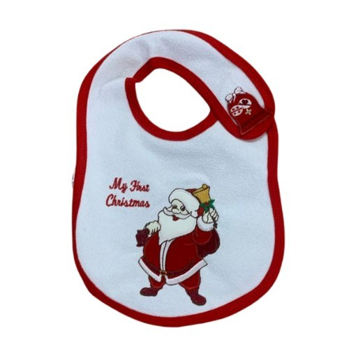 My first Christmas Baby Bib Colgan_Sports