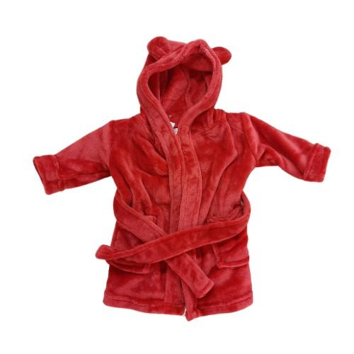 Red Dressing gown Colgan_Sports
