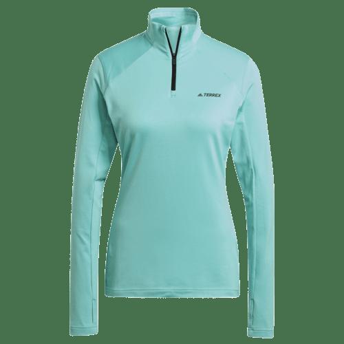 adidas Ladies Terrex Everyhike Half-Zip Fleece Jacket Colgan_Sports_and_Golf